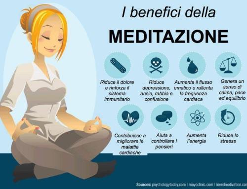 I benefici della meditazione.