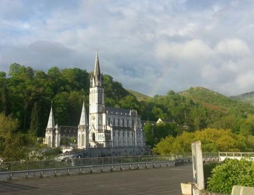 Ultimo giorno con l'arcobaleno a Lourdes, oggi si ritorna a casa…